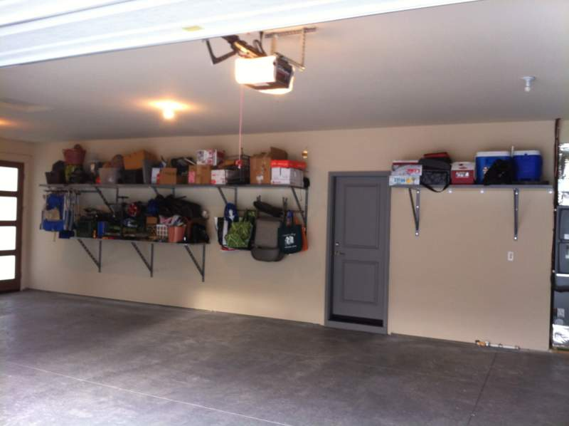 Tuscan Garage Storage Ideas
