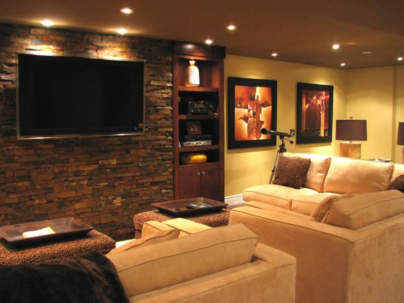 Tuscan Unfinished Basement Ideas