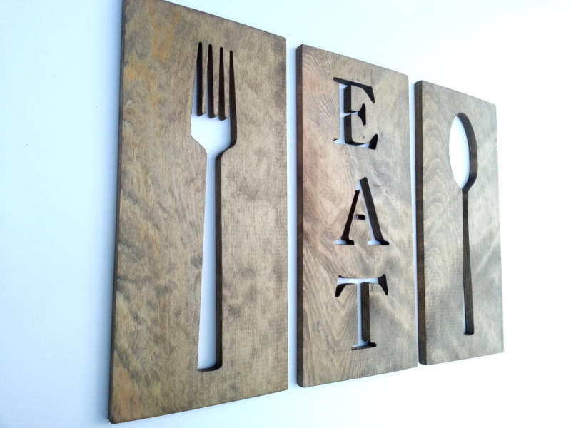Unique Kitchen Wall Decor