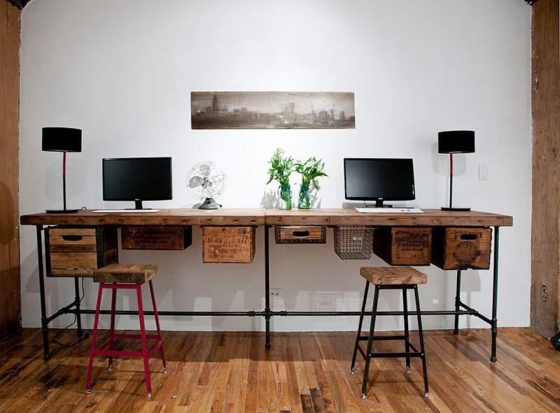 urban diy home office design ideas