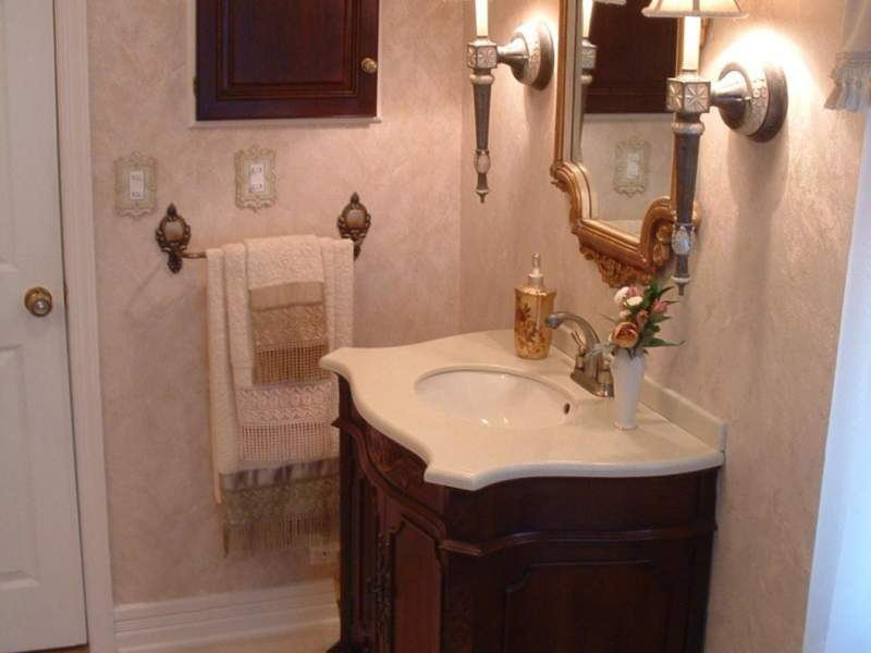 victorian half bathroom ideas