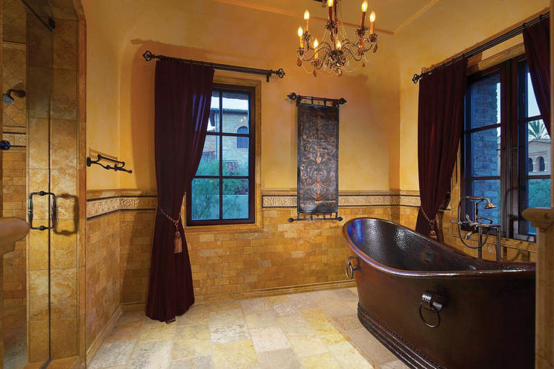 vintage basement bathroom ideas