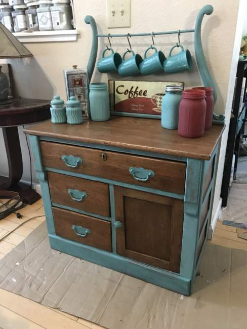 vintage coffee bar ideas