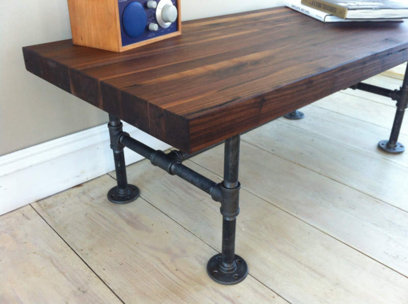 Vintage Pipe Table Ideas