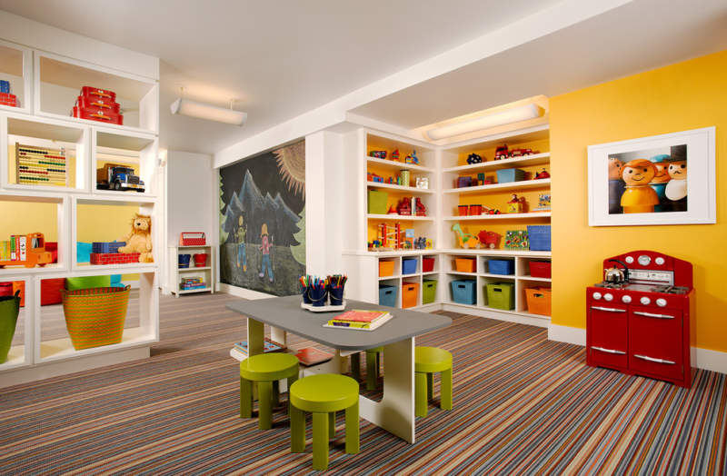 Wall Kids Room Storage Ideas