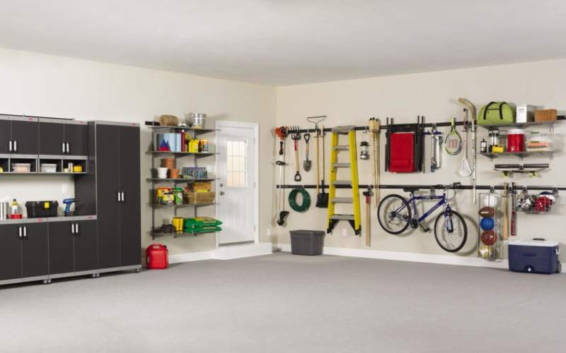 Zen Garage Storage Ideas
