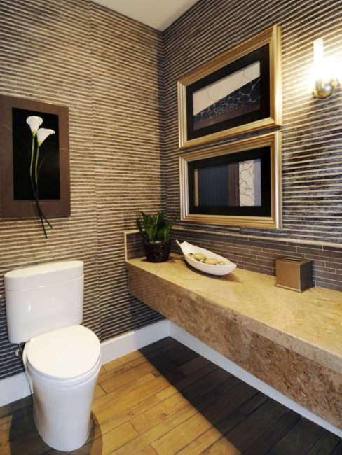 zen half bathroom ideas