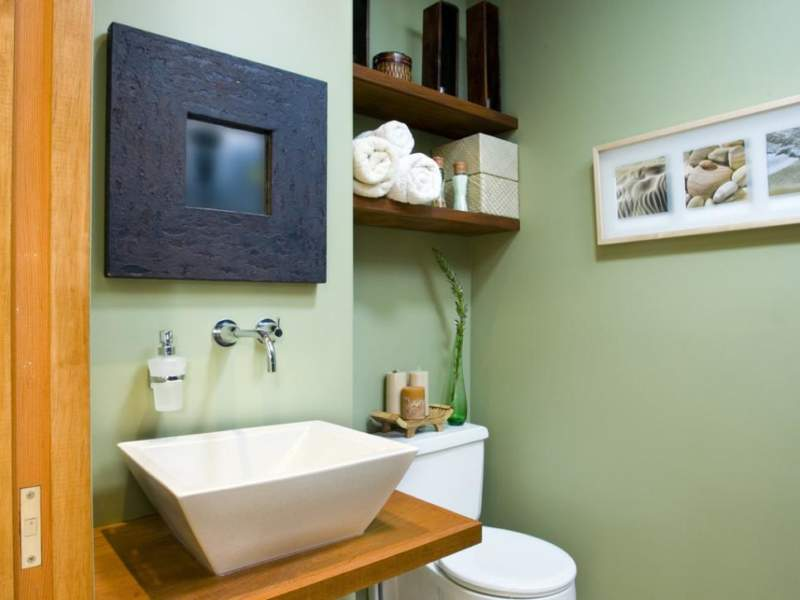 Zen Savvy Bathroom Storage Ideas