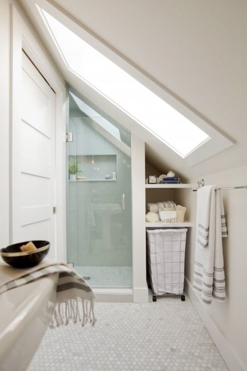 Attic Tiny House Bathroom 1