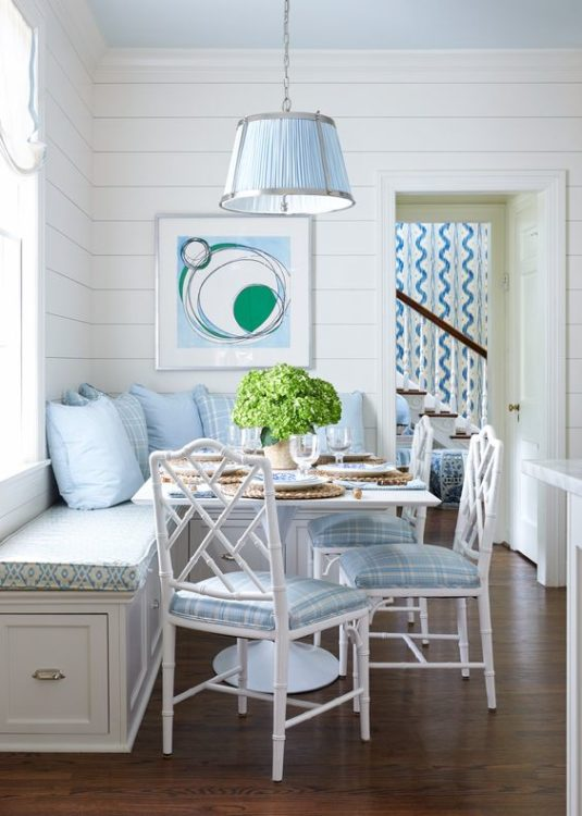Beach Style Corner Breakfast Nook Ideas