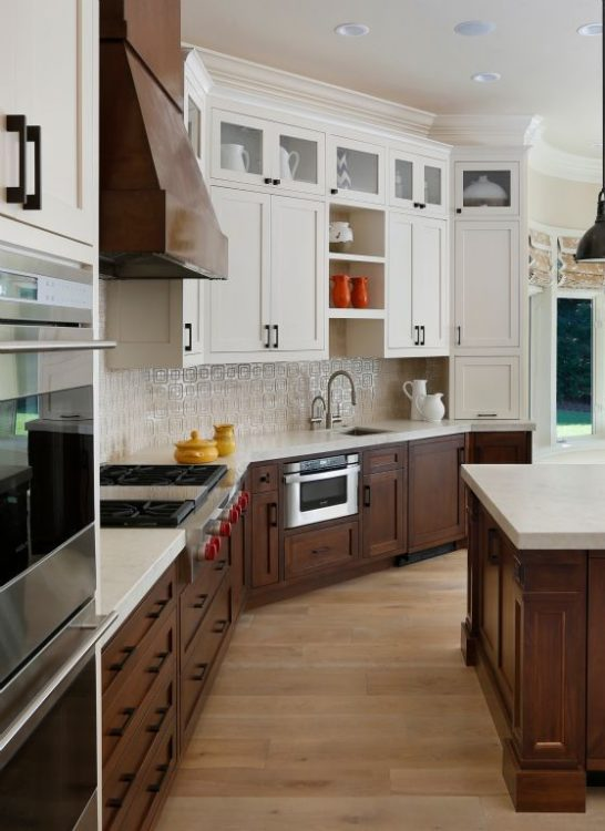 20+ Two Tone Kitchen Cabinets Ideas for Beautiful Kitchen ...
