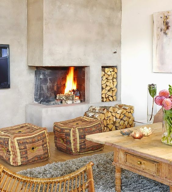 30 Awesome Corner Fireplace Ideas For Your Living Room