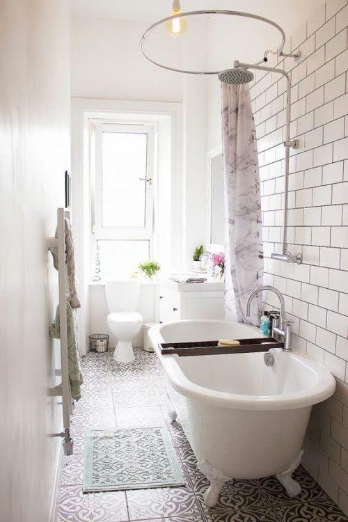 Classic Tiny House Bathroom