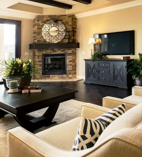 Cottage Corner Fireplace