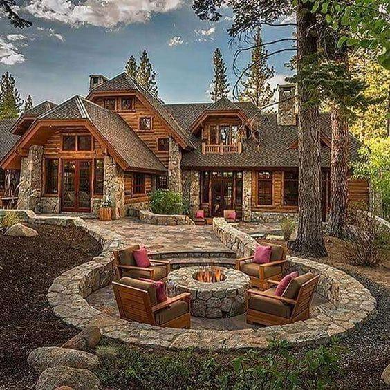 Cottage Stone Patio Ideas