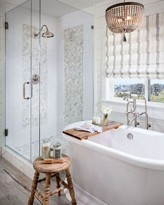 Country Tiny House Bathroom