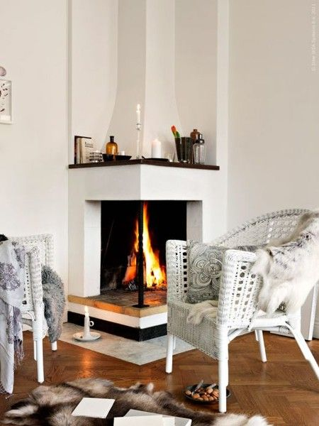 Cozy Corner Fireplace