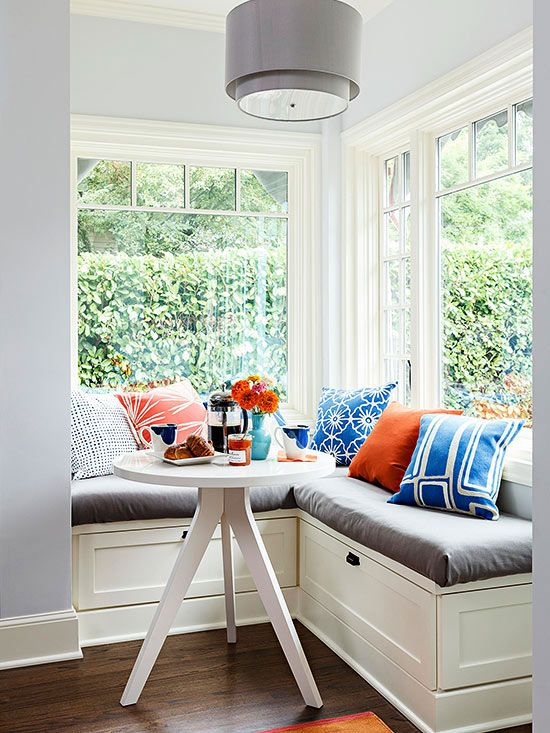 DIY Corner Breakfast Nook Ideas