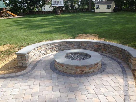 DIY Stone Patio Ideas