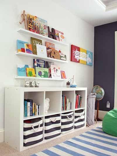 Easy Storage Organizer Kids Room Ideas