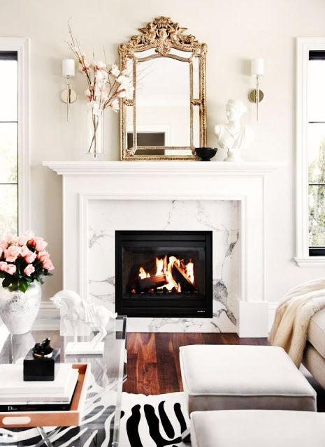 Elegant Fireplace Tile Ideas