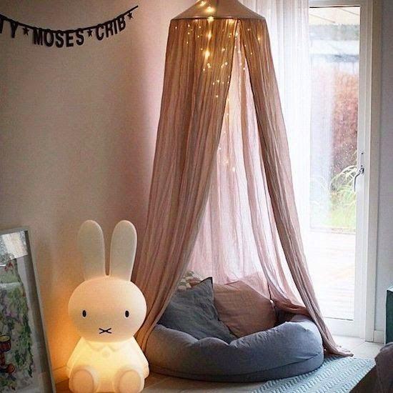 Fabric Canopy Girls Room Decor
