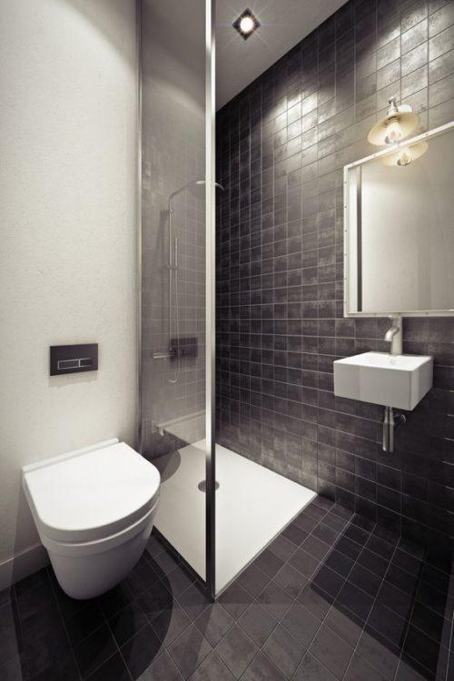 Futuristic Tiny House Bathroom