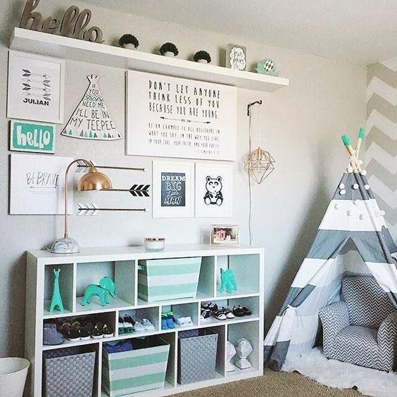 Grey Kids Room Ideas