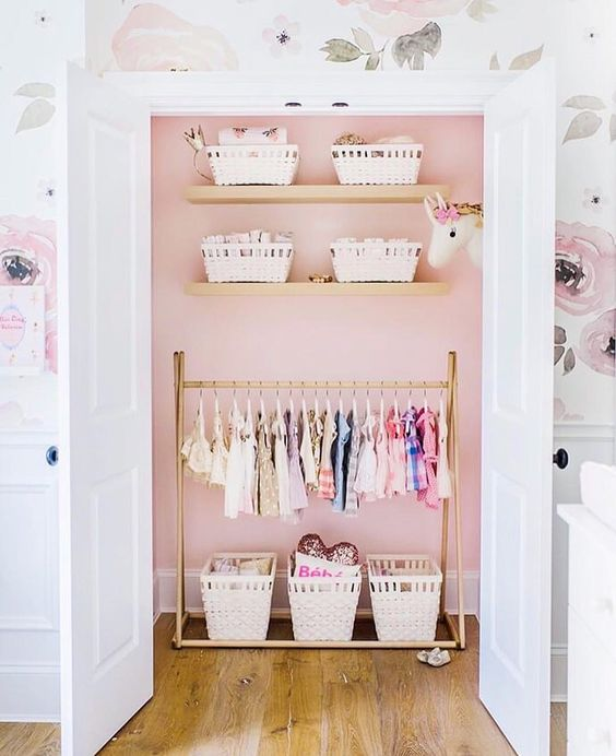 Hidden Storage Girls Room Decor