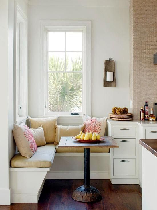 Minimalist Corner Breakfast Nook Ideas