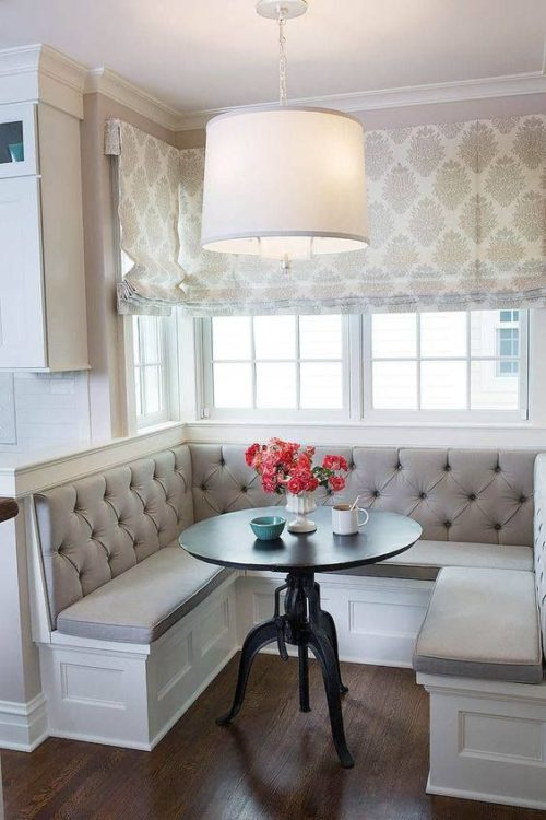 Modern Luxury Corner Breakfast Nook Ideas