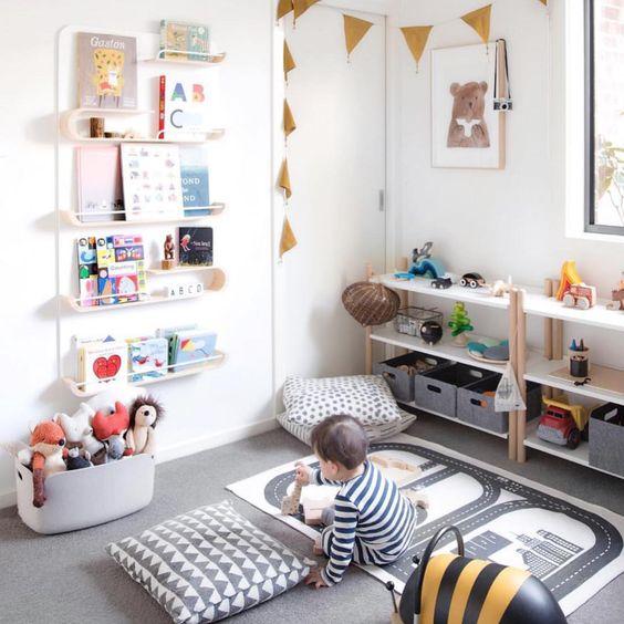 Modern Minimalist Kids Room Ideas