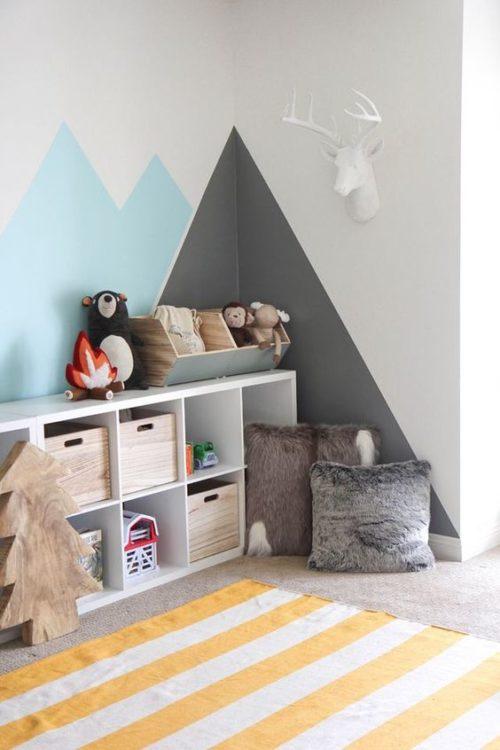 Neat Storage Kids Room Ideas