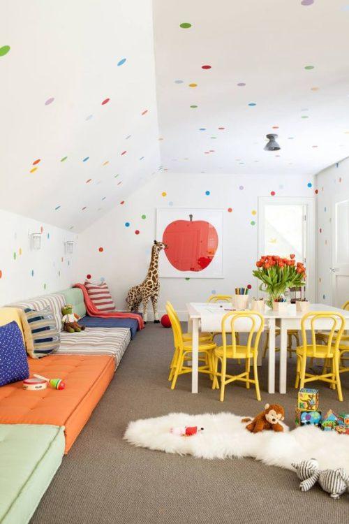 Pastel Decor Color Kids Room Ideas