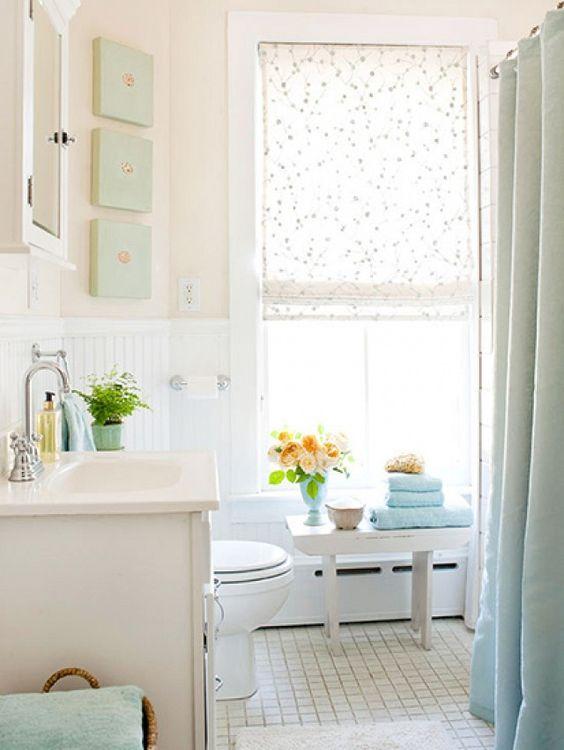 Pastel Tiny House Bathroom