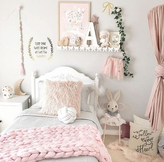 Pink Bedroom Girls Room Decor