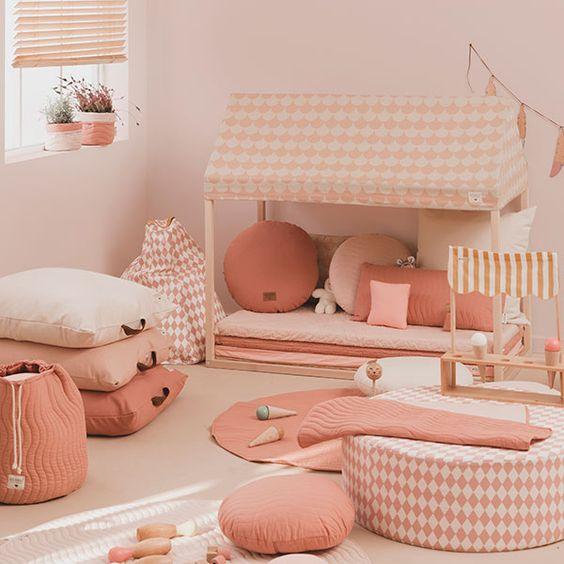 Pinky Kids Room Ideas