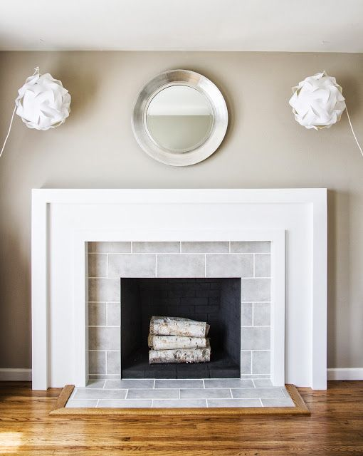 Precise Brick Look Fireplace Tile Ideas