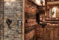 Rustic Basement Bathroom Ideas