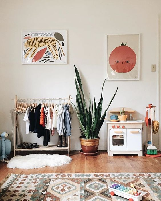 Scandinavian Girls Room Decor