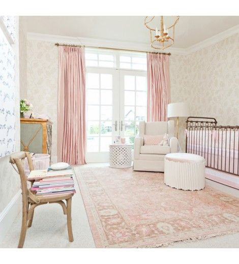 Soft Pink Girls Room Decor