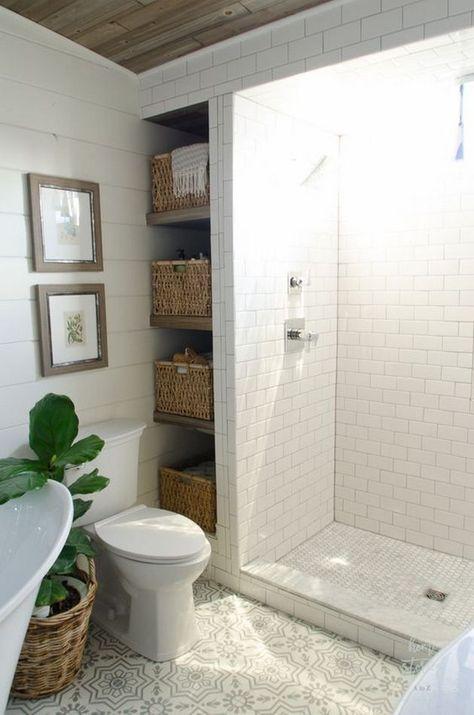 Space Saving Tiny House Bathroom