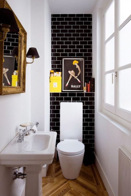 Traditional Tiny House Bathroom