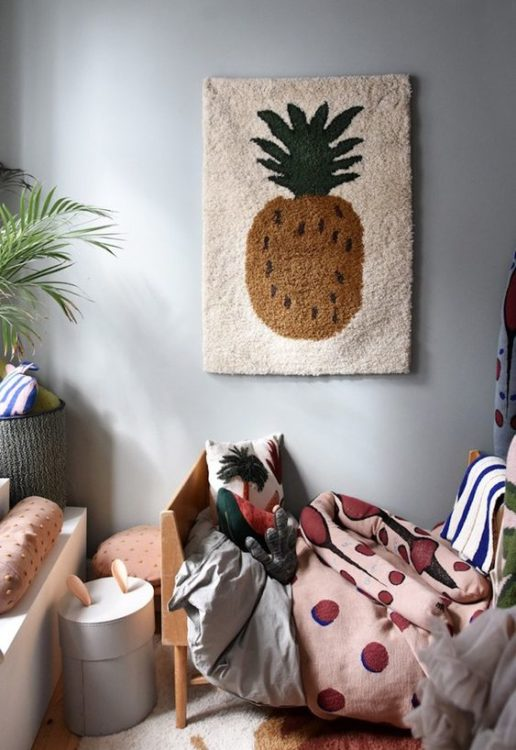 Tropical Girls Room Decor