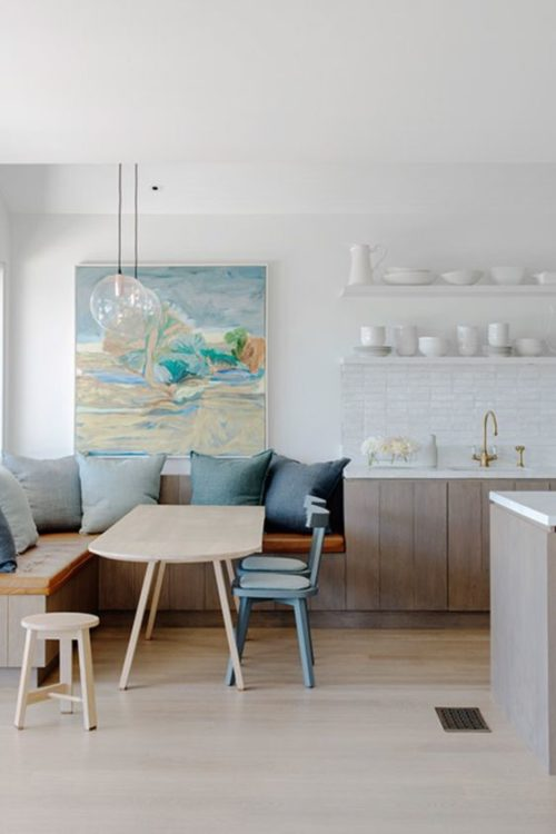 Ultra Modern Corner Breakfast Nook Ideas