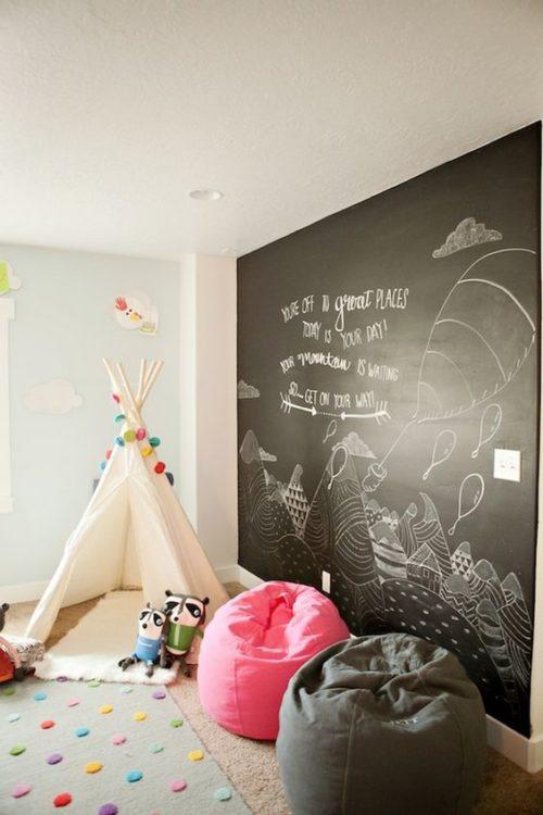 Wall Blackboard Kids Room Ideas