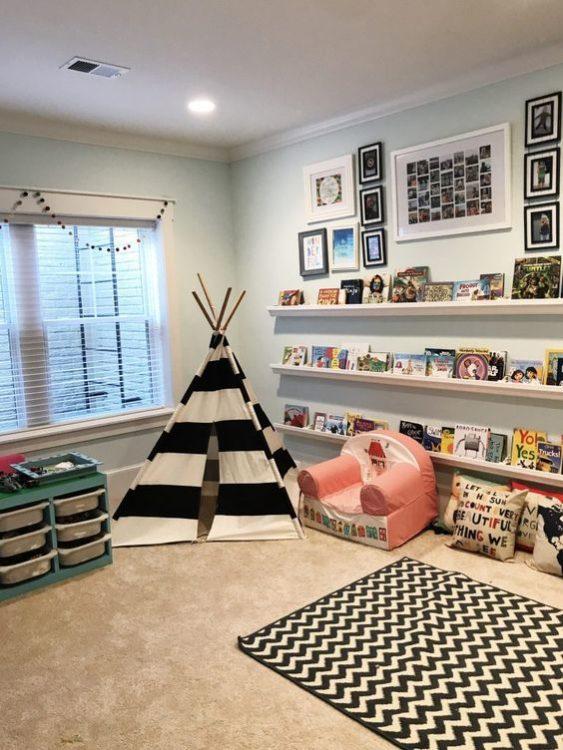 Well Organized Minimalist Kids Room Ideas