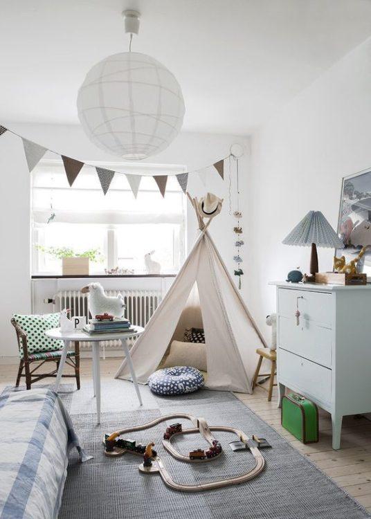 White Kids Room Ideas