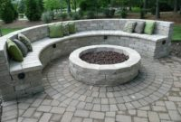 White Stone Patio Ideas 1
