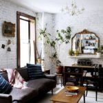 25+ Elegant White Brick Wall Ideas for All Room Interior Designs